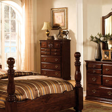 Tuscan Colonial Style Dark Pine Finish Bedroom Chest
