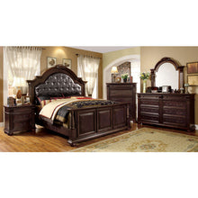 Esperia English Style Brown Cherry Finish 6-Piece Bedroom Set