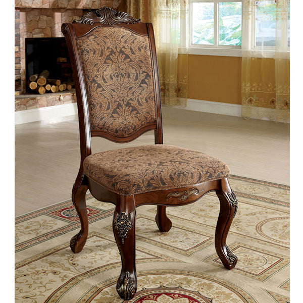 Cromwell Antique Cherry Finish Formal Style Dining Chair