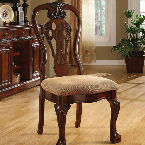 Georgetown English Style Cherry Finish Formal Style Dining Chair