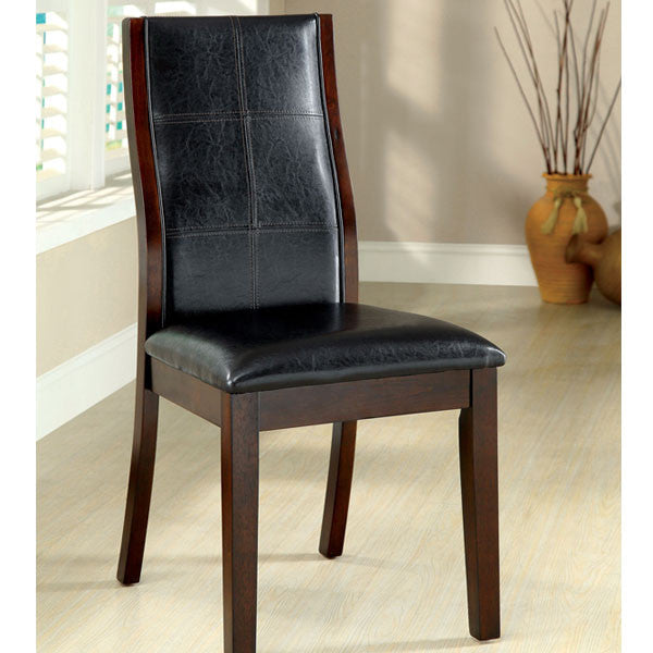 Toronto Dark Oak Finish Contemporary Style Dining Chair