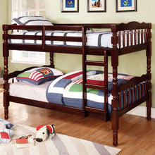 Catalina Classic Style Dual Twin Size Bunk Bed