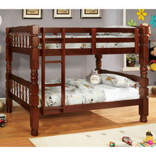 Carolina Traditional Classic Dual Twin Size Bunk Bed