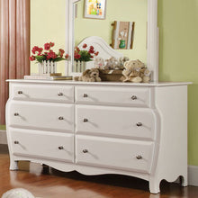 Roxana Cottage Style White 6-Piece Youth Bedroom Set