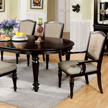 Harrinton French Style Dark Walnut 7-Piece Dining Set