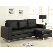 Mercier Contemporary Style Leatherette Sofa Set