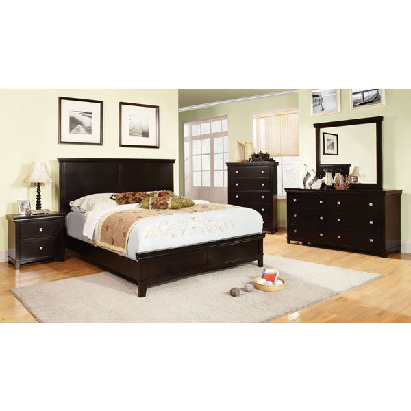 Dunhill Transitional Espresso 6-Piece Bedroom Set