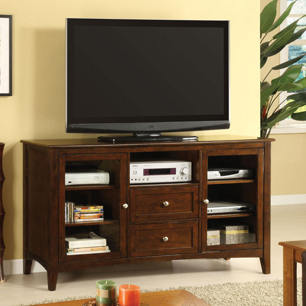 Lancaster Classic Style Dark Walnut 60-inch TV Stand