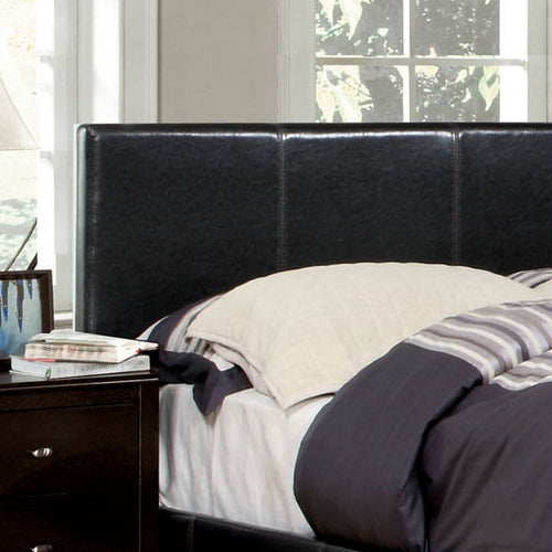 Winn Contemporary Leatherette Upholstered Headboard