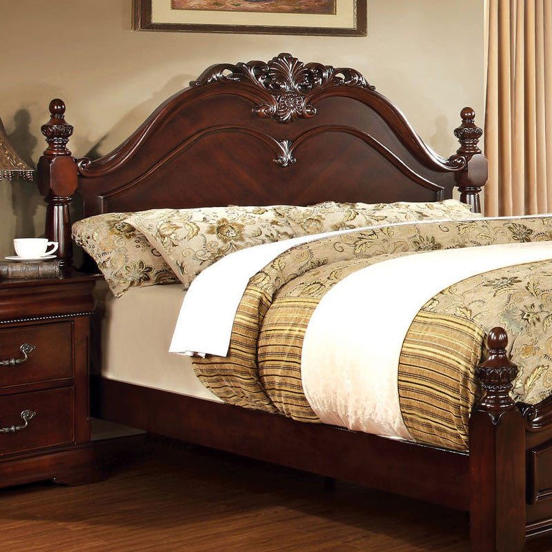 Mandura Traditional English Style Cherry Bed 24 7 Shop