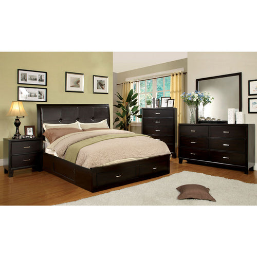 Atkinson Transitional Espresso 6-Piece Bedroom Set