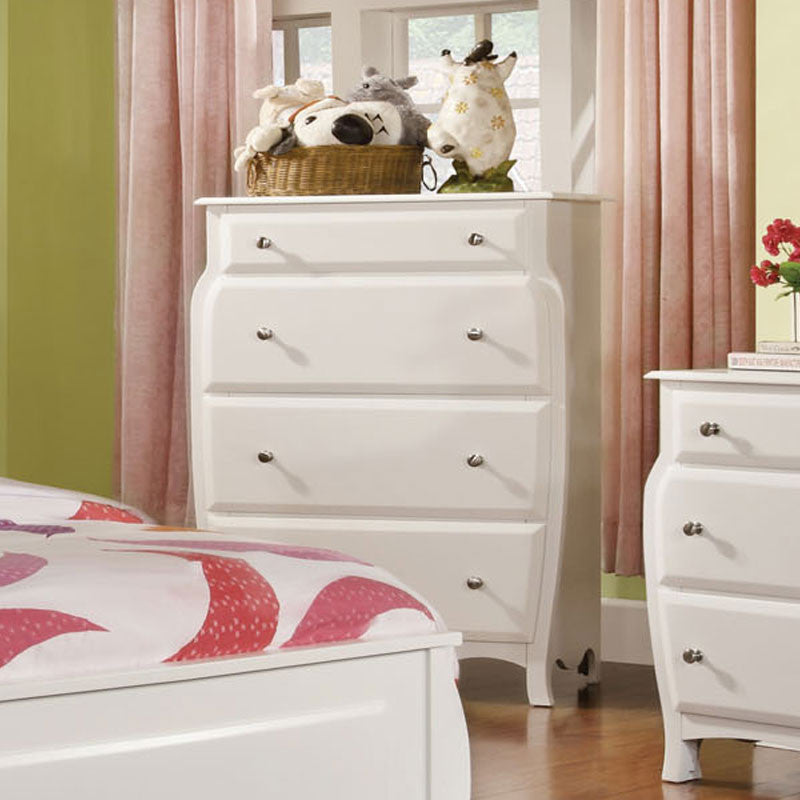 Roxana White Youth Bedroom Chest