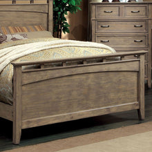 Loxley Transitional Bleach Oak Bed