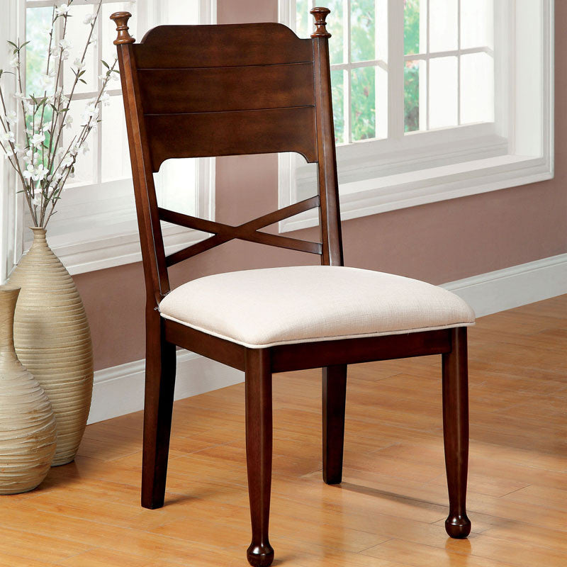Descanso Old English Style Dining Chair (Set of 2)