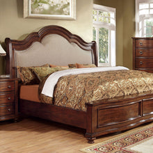 Bellavista Traditional Elegant Style Brown Cherry Finish 6-Piece Bedroom Set