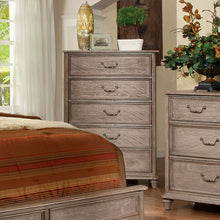 Belgrade Transitional Weathered Oak Bedroom Chest