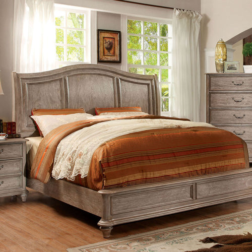 Belgrade II Transitional Weathered Oak Bed