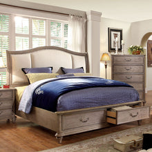 Norco Transitional Rustic Weathered Oak 6-Piece Bedroom Set