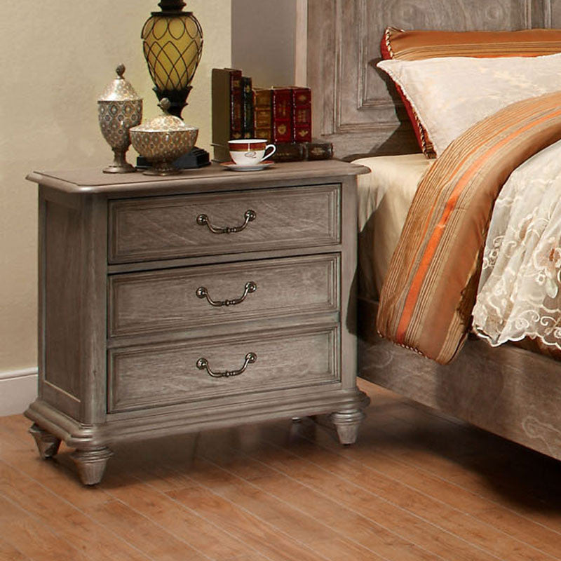 Norco Transitional Rustic Weathered Oak 6-Piece Bedroom