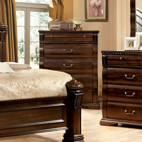 Burleigh Traditional Elegant Style Cherry Bedroom Chest