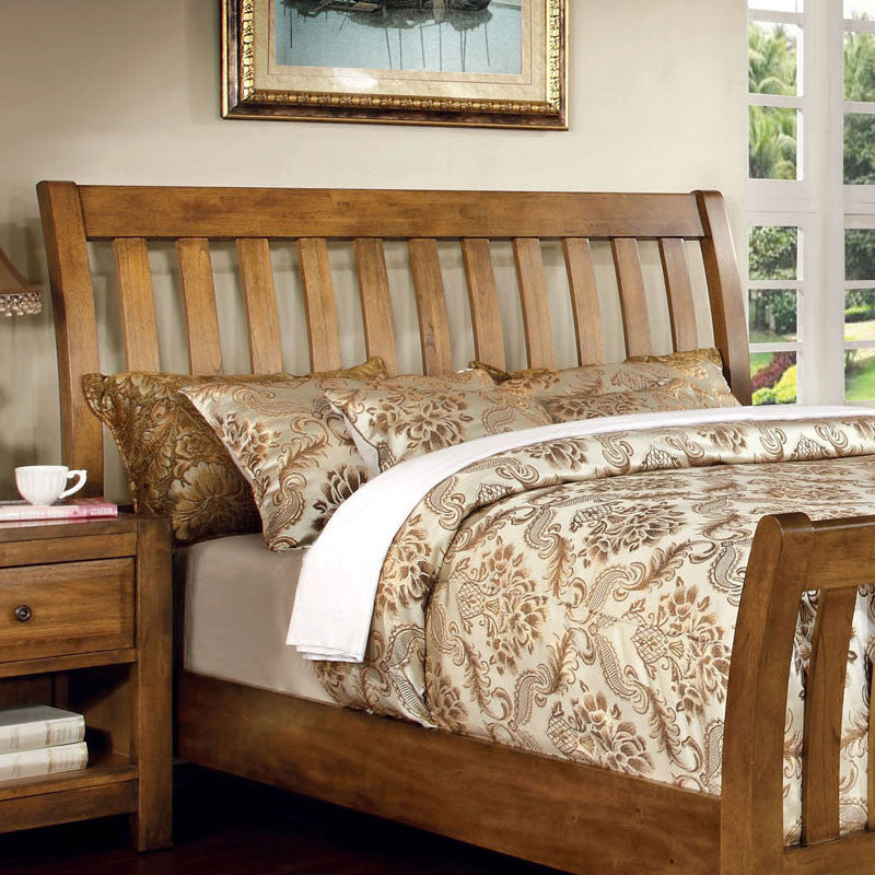 Conrad Country Style Rustic Oak Finish Bed Frame Set 247 Shop