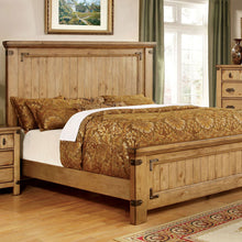 Pioneer Country Style Weathered Elm Bed