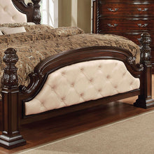 Monte Vista Luxury Style Dark Walnut Bed
