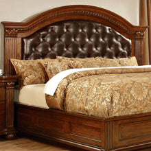 Grandom II Traditional Elegant Cherry Bed