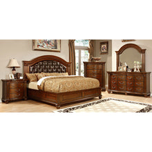 Grandom II Traditional Elegant Style Cherry Finish 6-Piece Bedroom Set