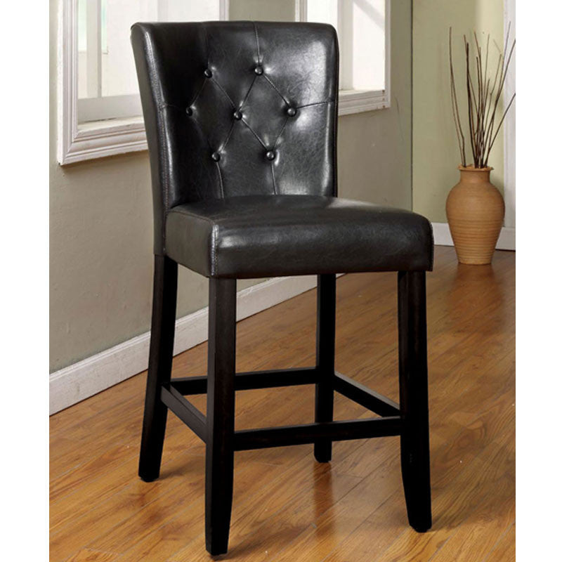 Woodmoor Leatherette Finish Counter Height Dining Chair
