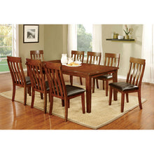 Foxville Transitional Brown Dining Set