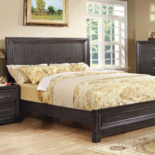 Bradley Transitional Dark Gray Bed
