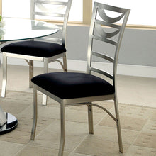 Roxo Modern Style Stain-Plated Dining Chair