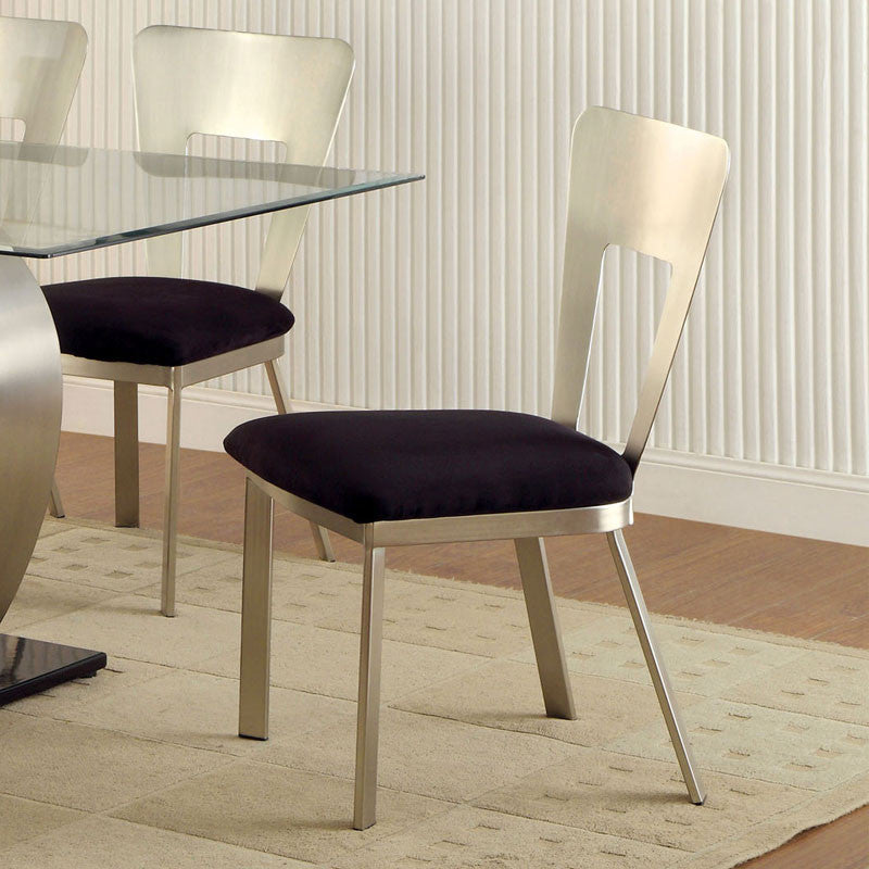 Nova Modern Style Stain Plated Dining Chair