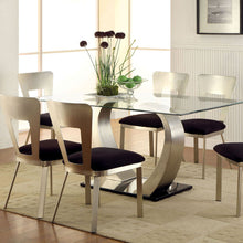 Nova Modern Stain Plated Dining Set