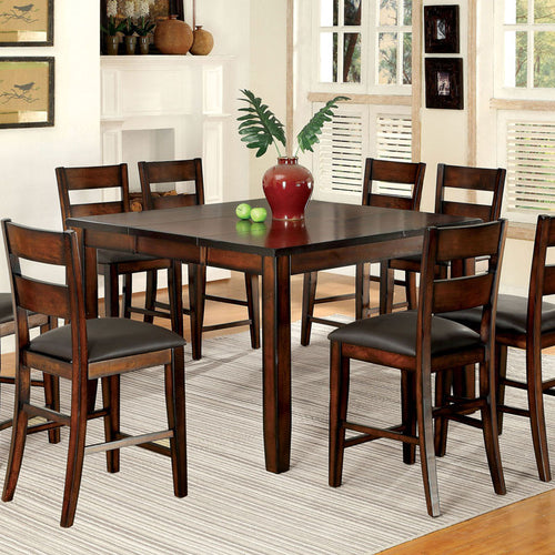 Rivington Transitional Dark Cherry Counter Height Dining Set