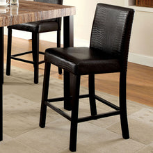 Rockham Black Finish Counter Height Table Set