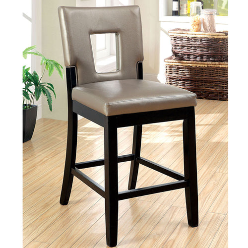 Millen Gold Ash Leatherette Finish Counter Height Chair