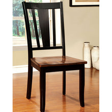 Dover Transitional Black & Cherry Dining Set