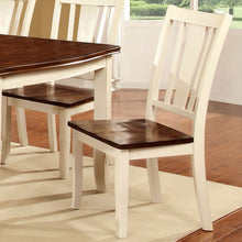 Dover Transitional White & Cherry Dining Set