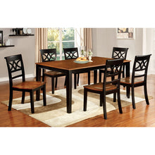 Smeaton Cherry & Black Dining Set