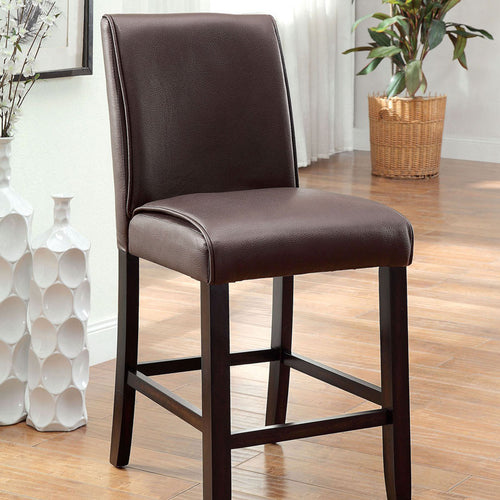 Gladstone Dark Walnut Finish Counter Height Chair