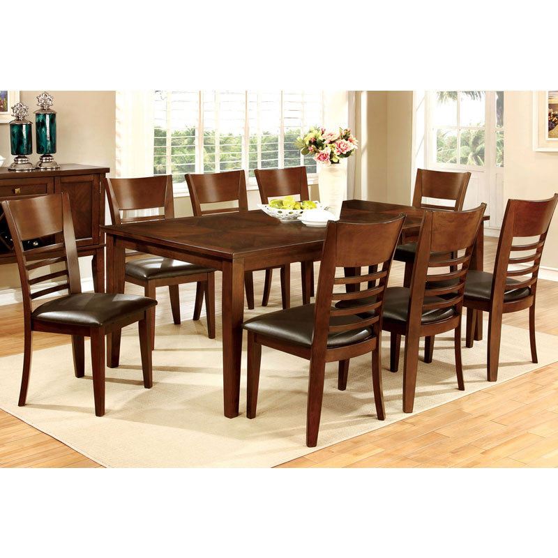 Hillview Brown Cherry Dining Set