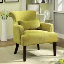 Agalva Contemporary Fabric Accent Chair