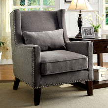Tomar Contemporary Fabric Accent Chair