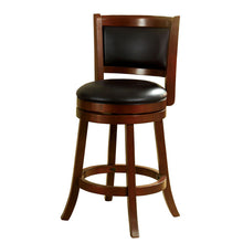 Letcher Dark Cherry Finish Swivel Bar Stool (24 inch or 29 inch)