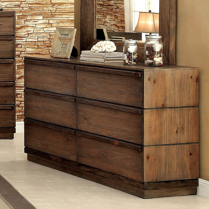 Coimbra Country Style Natural Tone Bedroom Dresser