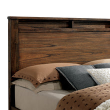 Elkton Traditional Oak Storage Footboard Platform Bed