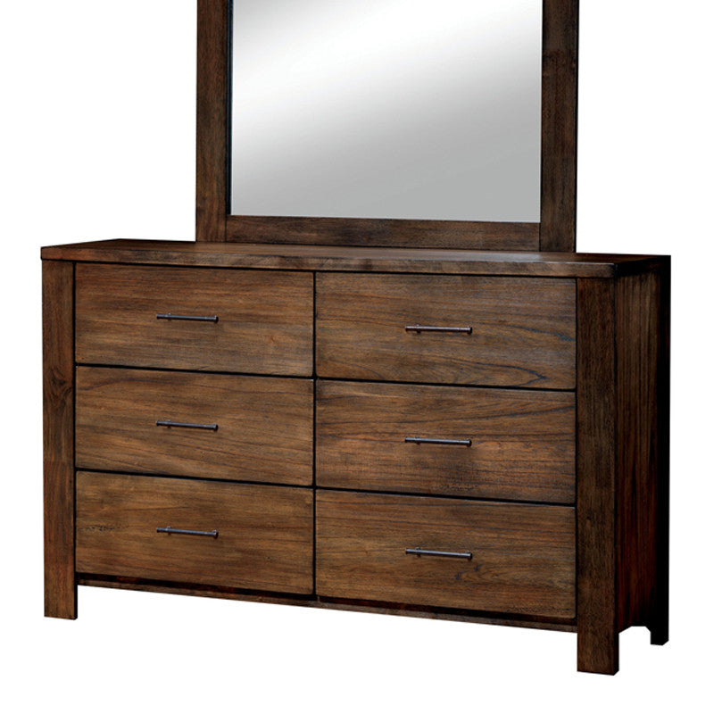 Elkton Traditional Oak Bedroom Dresser