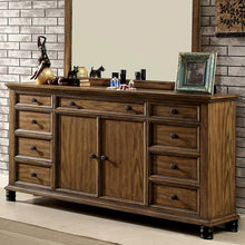 McVille Dark Oak Finish Bedroom Dresser